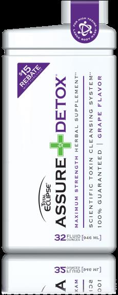 Total Eclipse Assure Detox 32oz. Drink - Grape Flavor