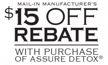 Assure Mail-In Manufacturer's Rebate