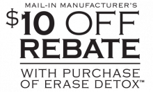 Erase Detox Mail-In Rebate